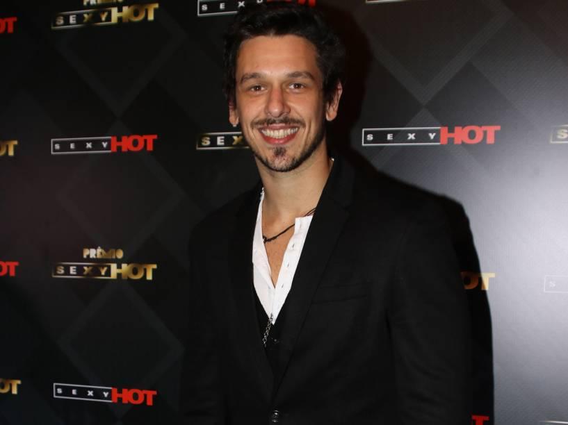 João Vicente de Castro no prêmio Sexy Hot 2016