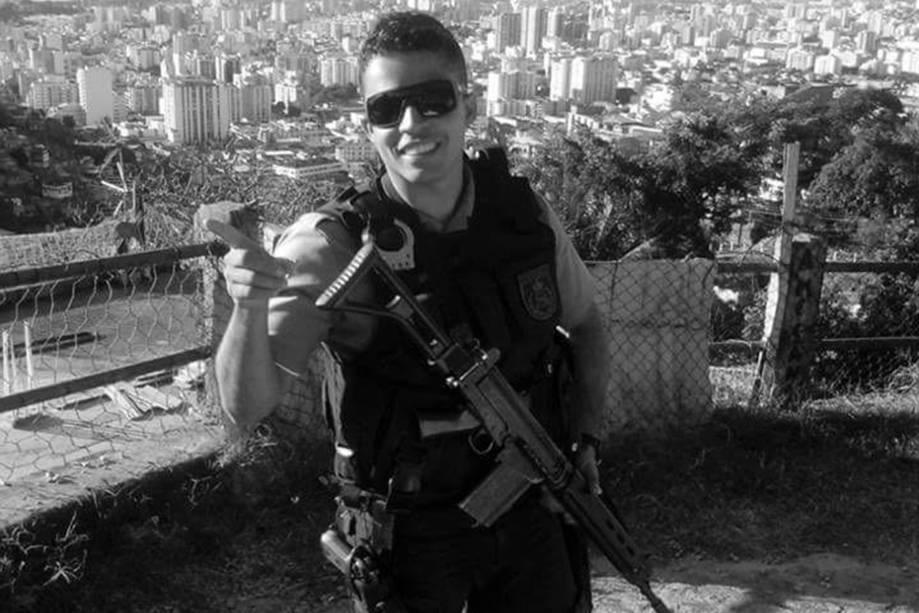 Victor Eric: aos 26 anos, o soldado foi o 38º policial  assassinado em territórios considerados 'pacificados' desde o início do projeto UPP, em 2008