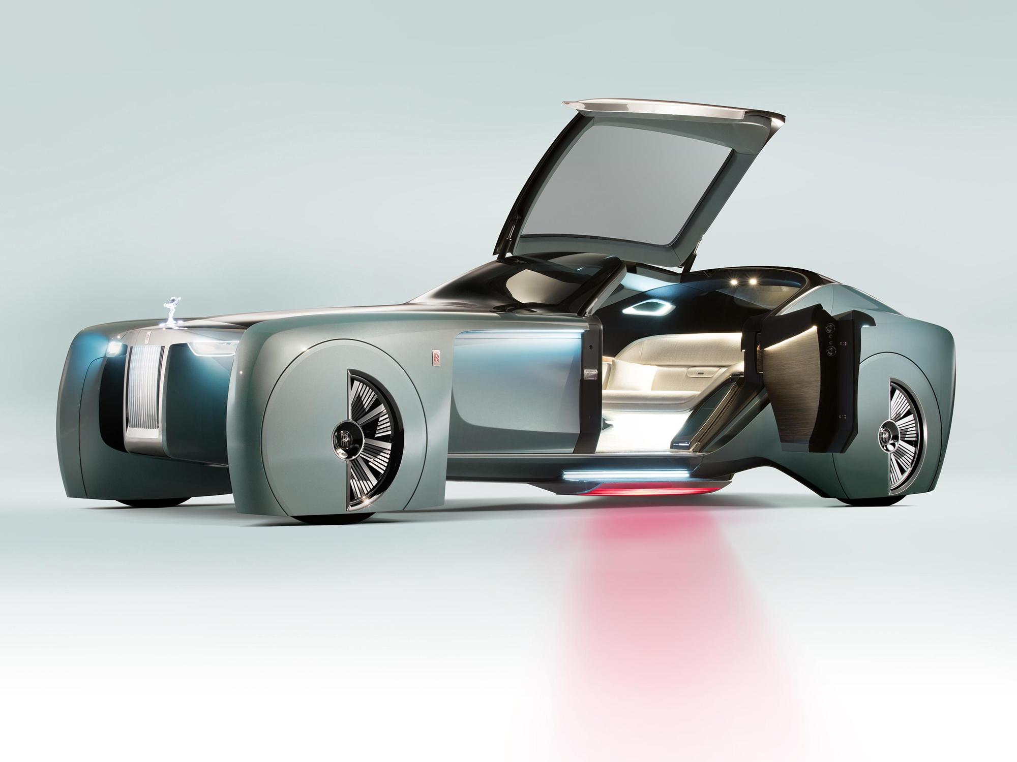 Rolls Royce Revela Luxuoso Carro Conceito Para Centenario Da Bmw Veja