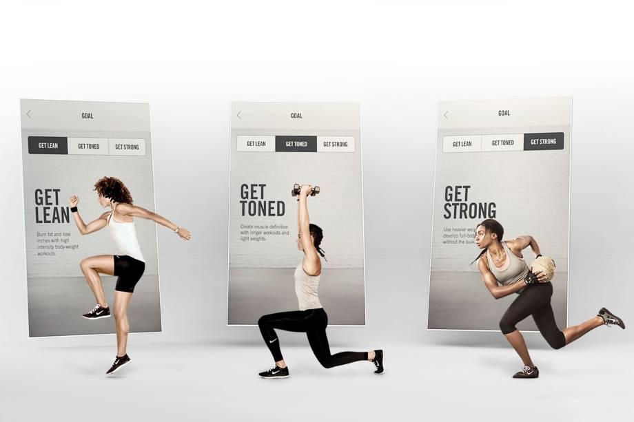 Aplicativo Nike Training Club