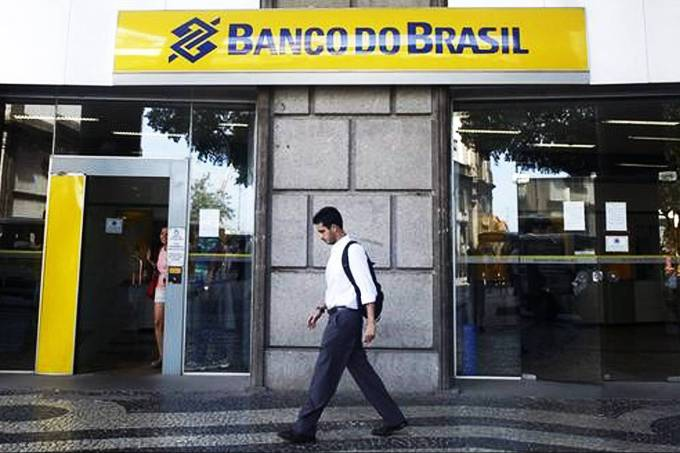 Agência do Banco do Brasil no centro do Rio de Janeiro