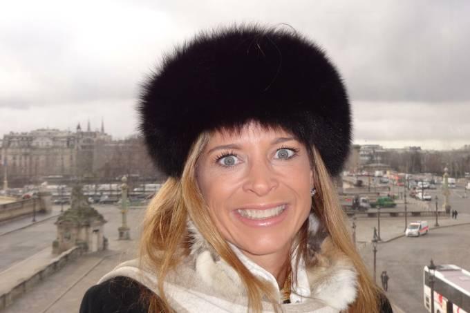 A jornalista Claudia Cruz, esposa de Eduardo Cunha