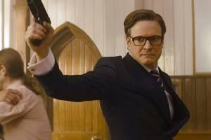 Colin Firth em 'Kingsman: Serviço Secreto' (2014)