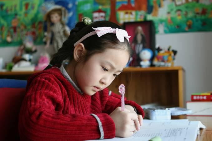 Estudante chinesa