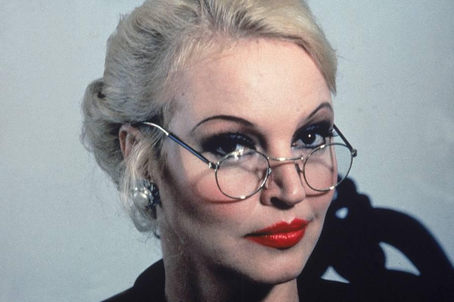 Elke Maravilha, modelo e atriz em 1986