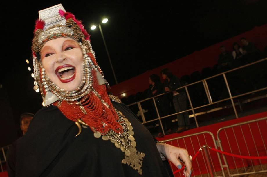 Elke Maravilha no 1º Festival Paulínia de Cinema em 2008