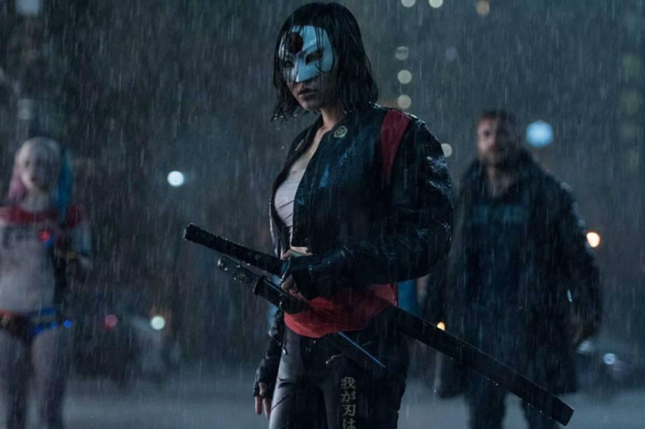 A atriz Karen Fukuhara em cena do filme 'Esquadrão Suicida'