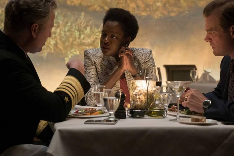 A atriz  Viola Davis em cena do filme 'Esquadrão Suicida'