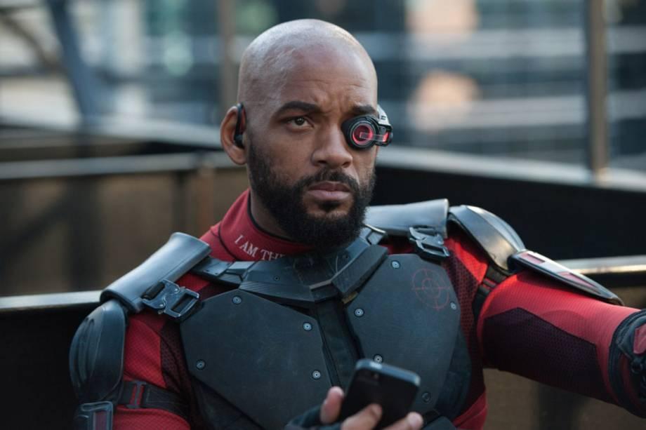 O ator Will Smith em cena do filme 'Esquadrão Suicida'