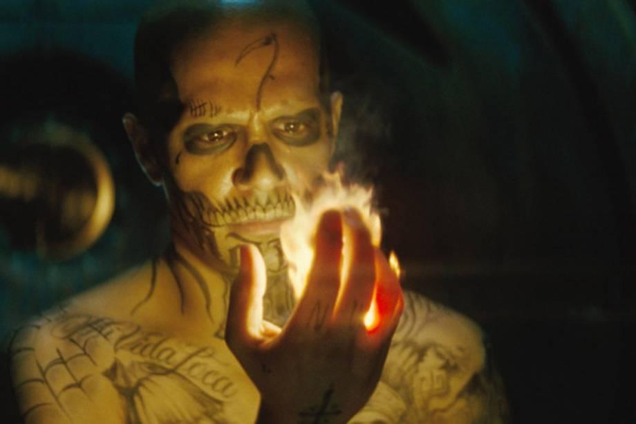 O ator Jay Hernandez em cena do filme 'Esquadrão Suicida'