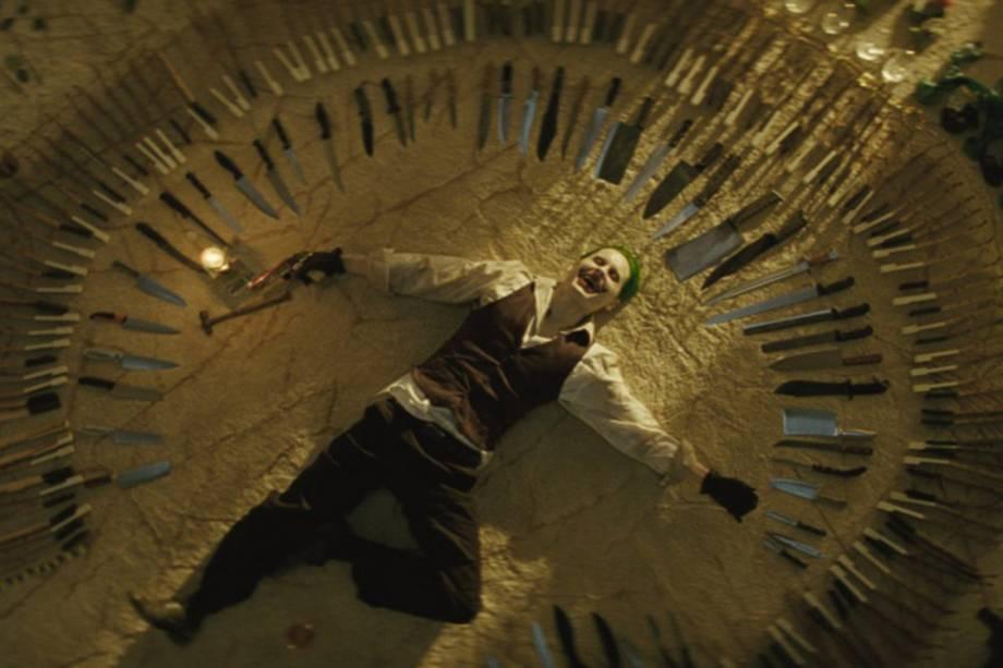 O ator Jared Leto em cena do filme 'Esquadrão Suicida'