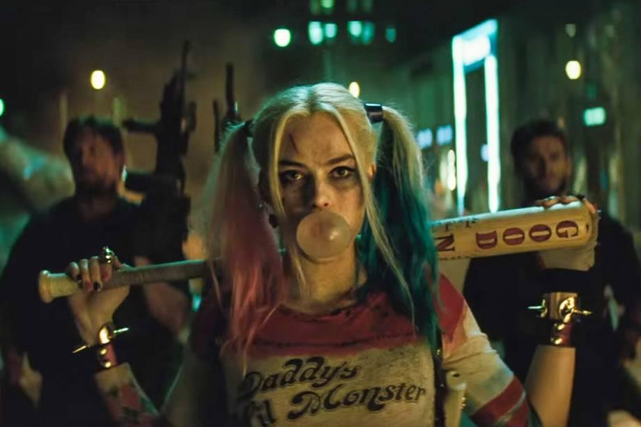 A atriz Margot Robbie em cena do filme 'Esquadrão Suicida'