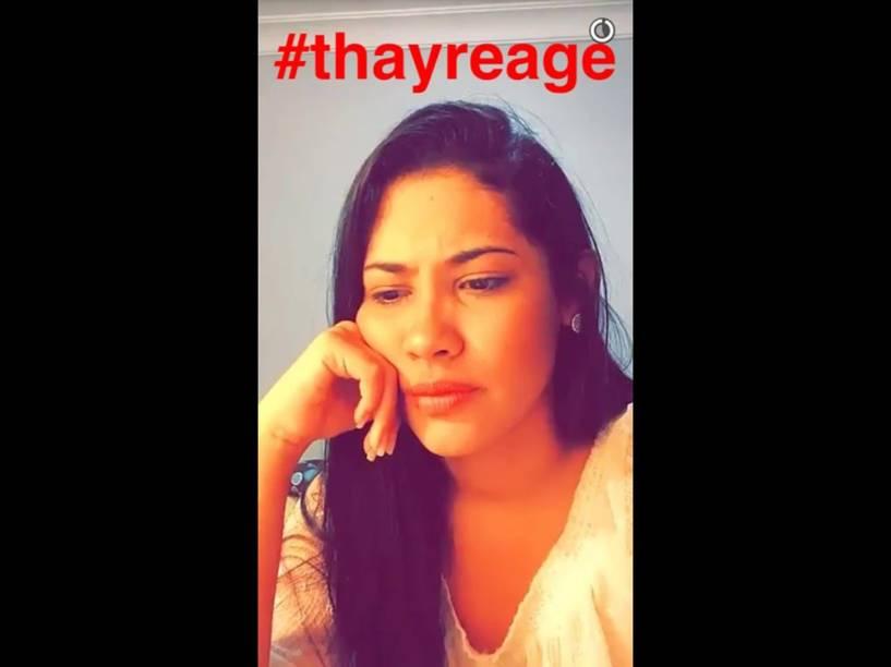 A snapchater Thaynara Og