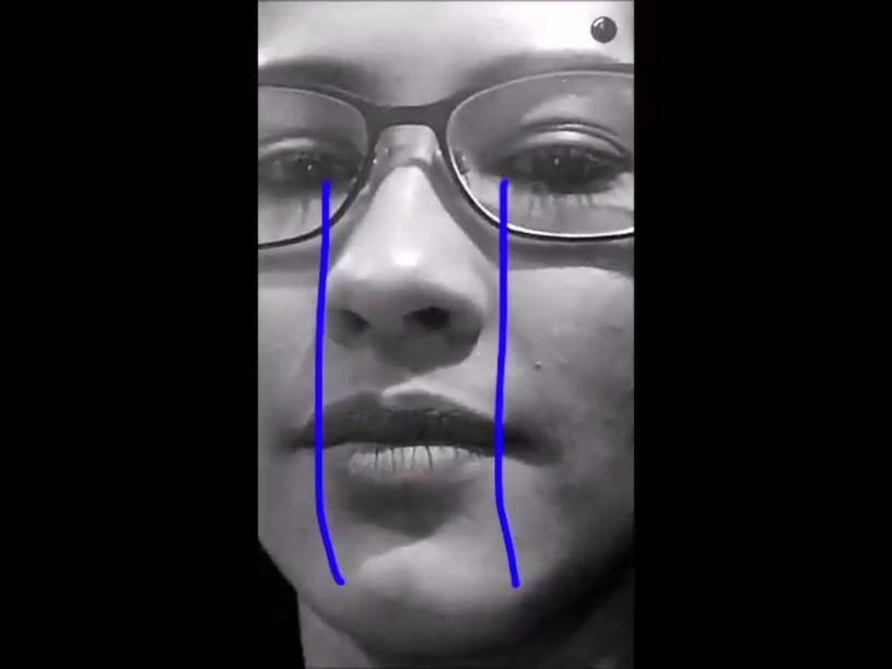 As famosas lágrimas desenhadas da snapchater Thaynara Og