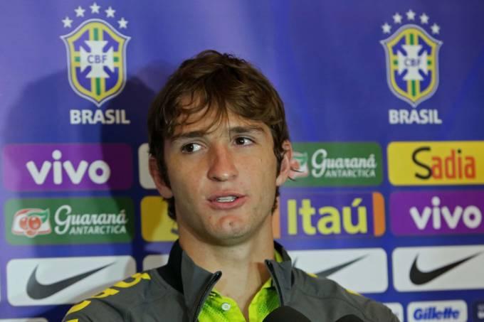 O lateral brasileiro Mario Fernandes