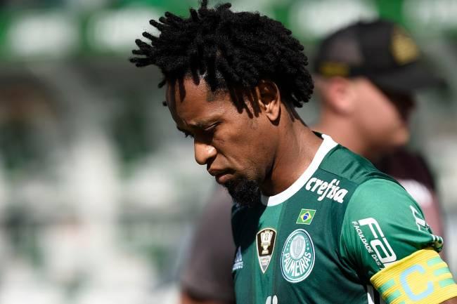 O jogador Zé Roberto, do Palmeiras, durante partida contra o Atlético-MG, válida pela 16ª rodada do Campeonato Brasileiro, realizada na Arena Palmeiras, em São Paulo (SP) - 24/07/2016