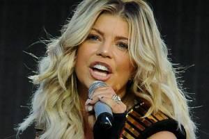 A cantora americana Fergie