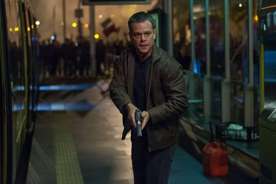 Em 2016, Matt Damon volta a interpretar o agente Bourne em um filme que mantém a excelência da série.