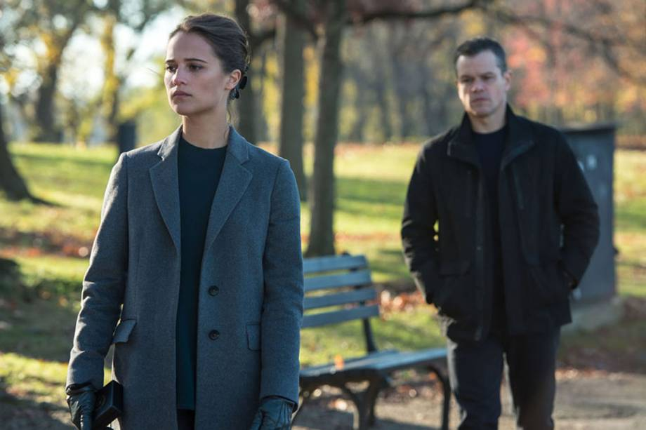 Heather Lee (Alicia Vikander) em Jason Bourne