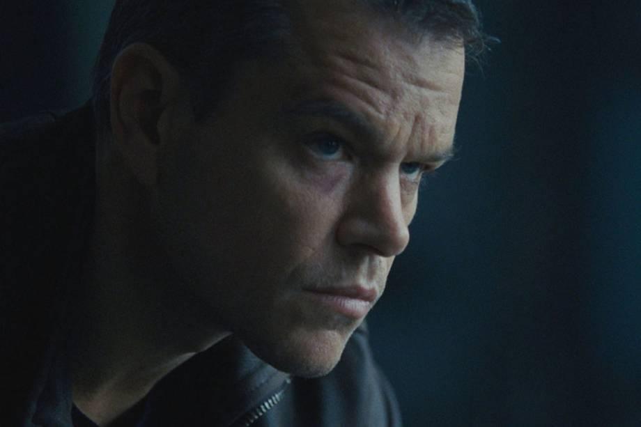 Matt Damon volta a interpretar Jason Bourne