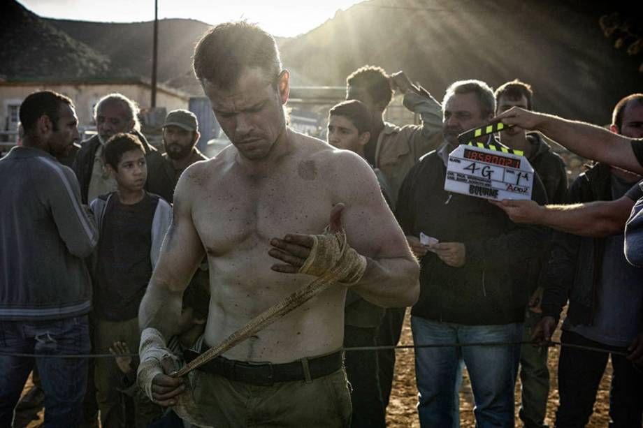 Jason Bourne (Matt Damon) no novo filme da franquia