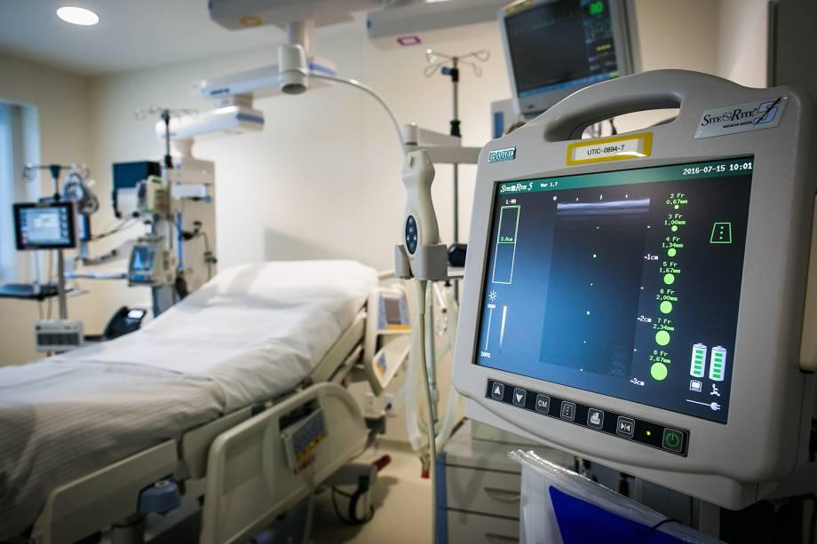A nova UTI Cardiológica do Hospital Sírio Libanês  conta com 12 leitos individualizados e estrutura de alta tecnologia.