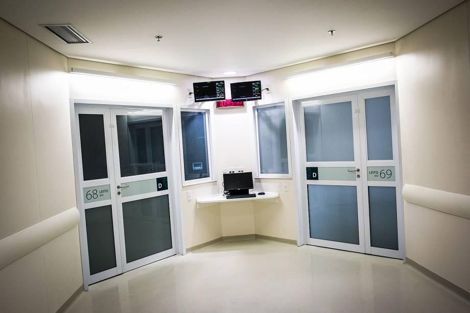 UTI Cardiológica Mais Humanizada, no hospital Sírio Libanês, em São Paulo