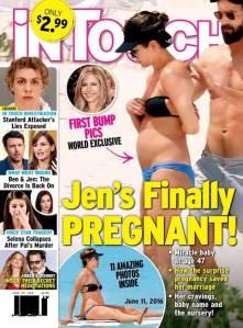 """Revista disse que Jennifer Aniston estava grávida. """"Foi só um bom almoço"""", diz atriz"""