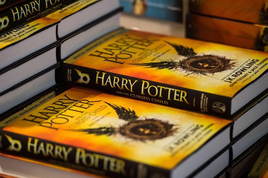 Lançamento do livro Harry Potter e a Criança Amaldiçoada, em Londres