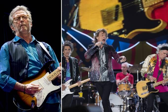 Eric Clapton e Rolling Stones