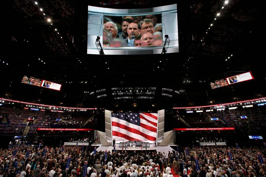 Segundo dia da Convenção Nacional do Partido Republicano americano,realizada em Cleveland (EUA) - 19/07/2016