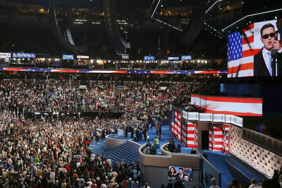 Segundo dia da Convenção nacional do Partido Democrata americano, realizada na Filadélfia (EUA) - 26/07/2016