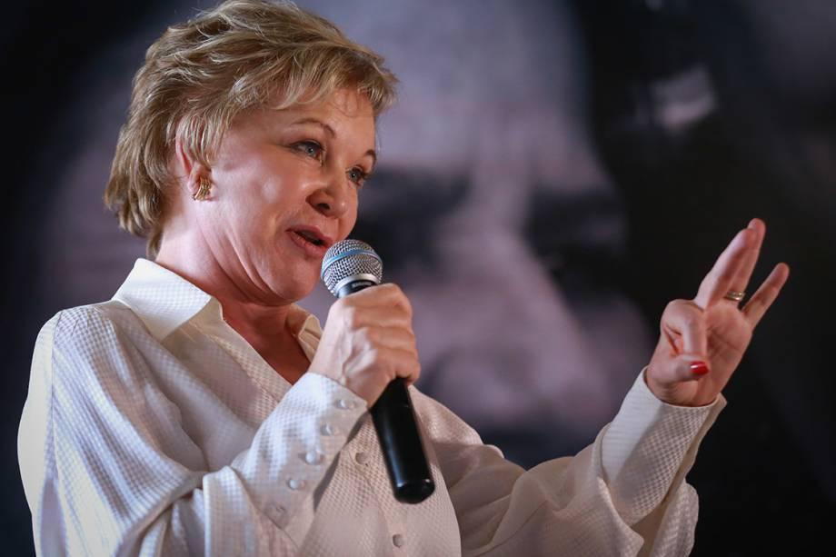 """A senadora Marta Suplicy se submeteu a uma cirurgia plástica no rosto com Ivo Pitanguy em 1997. """"Depois que vi o resultado, fui visitá-lo para agradecer."""""""
