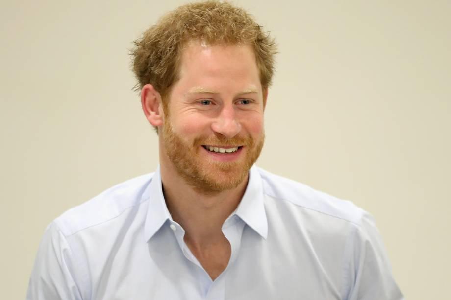 Príncipe Harry participa de um evento para promover Teste de HIV em Londres - 14/07/2016