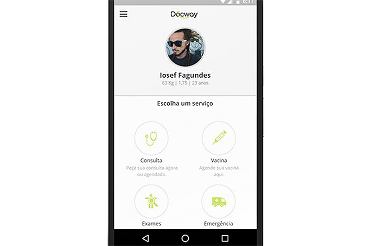 O aplicativo DocWay