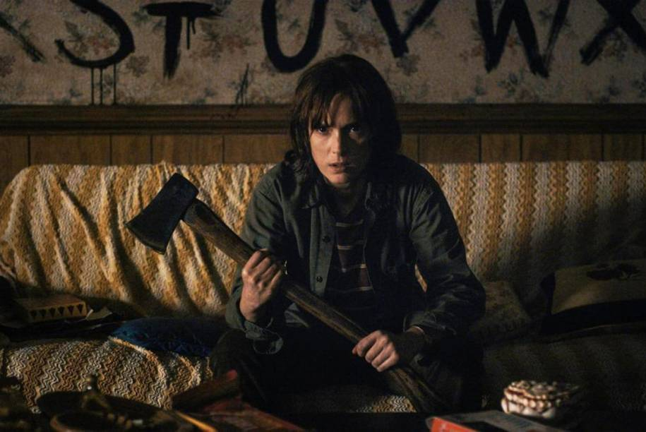 Winona Ryder na série 'Stranger Things'