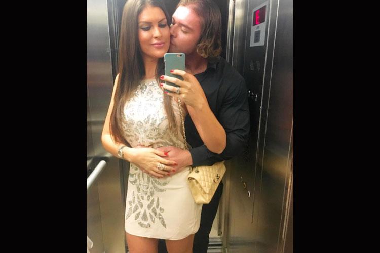 Thor Batista e a namorada Lunara Campos