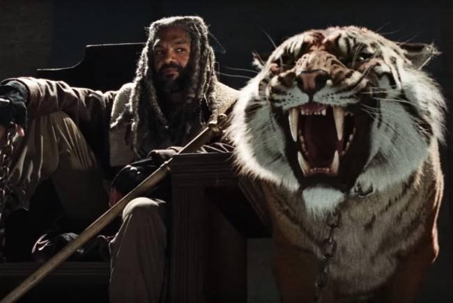Ezekiel surge pela primeira vez em trailer de 'The Walking Dead'