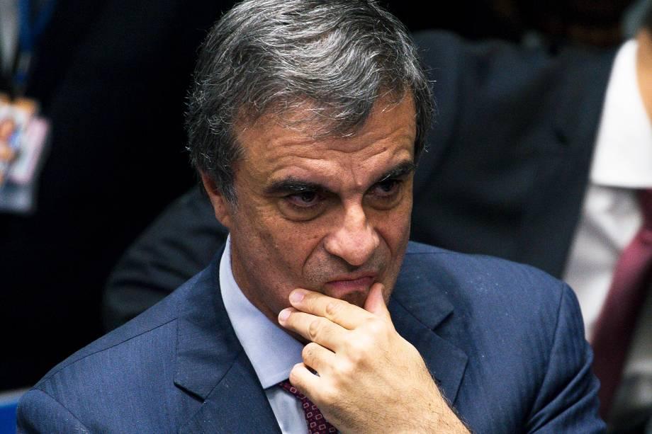 O advogado de defesa, JosŽ Eduardo Cardozo, ap—s vota‹o do impeachment. Por 61 a 20, o plen‡rio do Senado decide pelo impeachment de Dilma Rousseff.( Marcelo Camargo/Agncia Brasil)