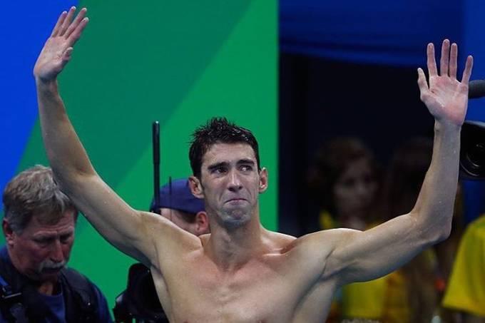 Michael Phelps publica foto da Olimpíada e diz sentir falta do Rio de Janeiro
