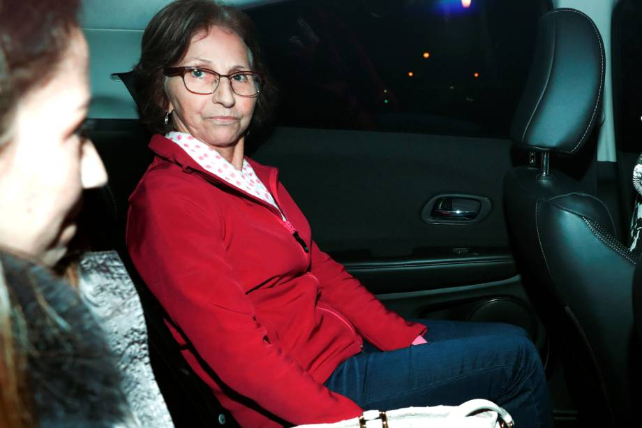 Aparecida Schunck , sogra de Bernie Ecclestone, foi libertada pela polícia no domingo após passar nove dias em cativeiro - 01/08/2016