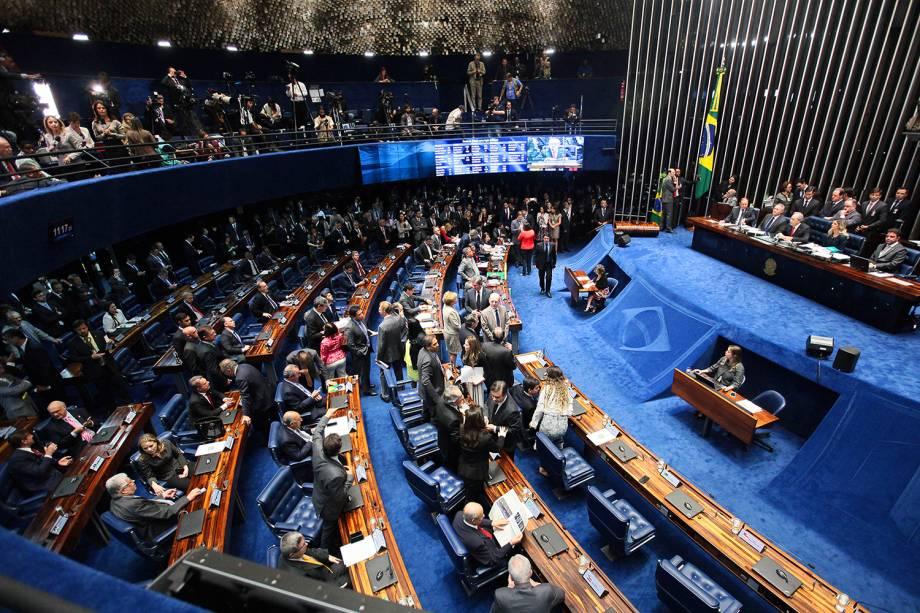 Sessão final de julgamento do processo de impeachment da presidente da República afastada Dilma Rousseff , por crime de responsabilidade  - 31/08/2016