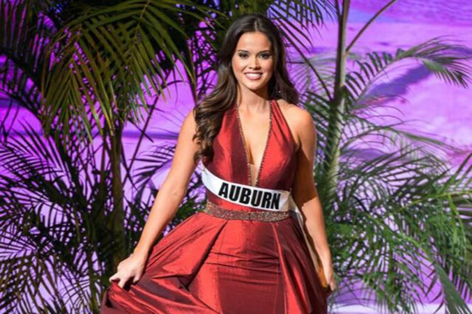 Modelo Liz Willis, namorada do nadador Marcelo Chierighini