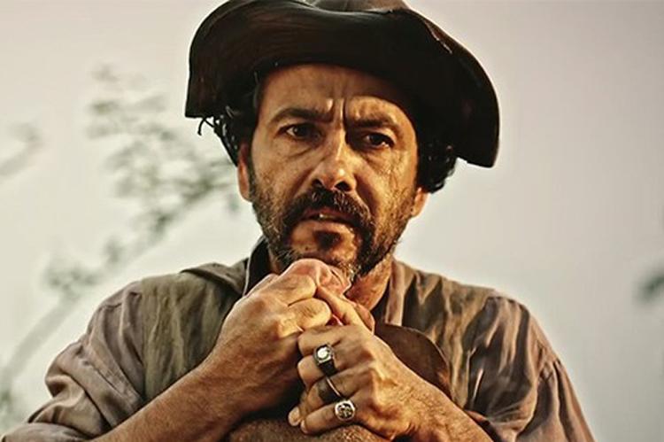 Marcos Palmeira interpreta Cícero em 'Velho Chico'
