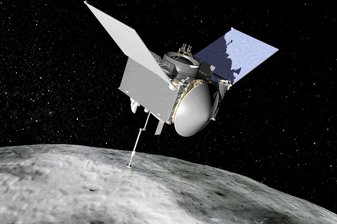 NASA mostra vídeo da sonda que alcançou asteroide no espaço