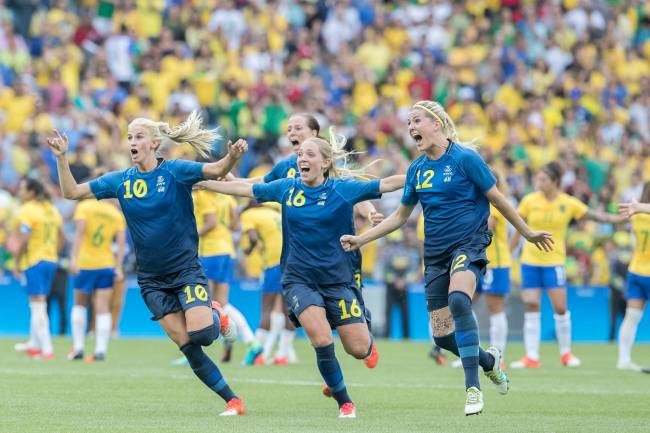 Seleção feminina é eliminada pela Suécia nos pênaltis no Maracanã