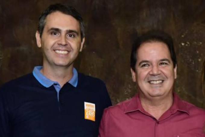 Marcus Alexandre e Tião Viana