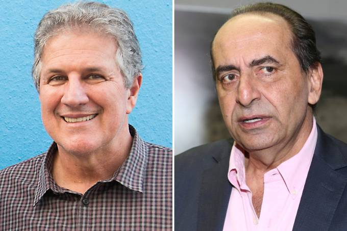 João Leite (PSDB) e Alexandre Kalil (PHS)
