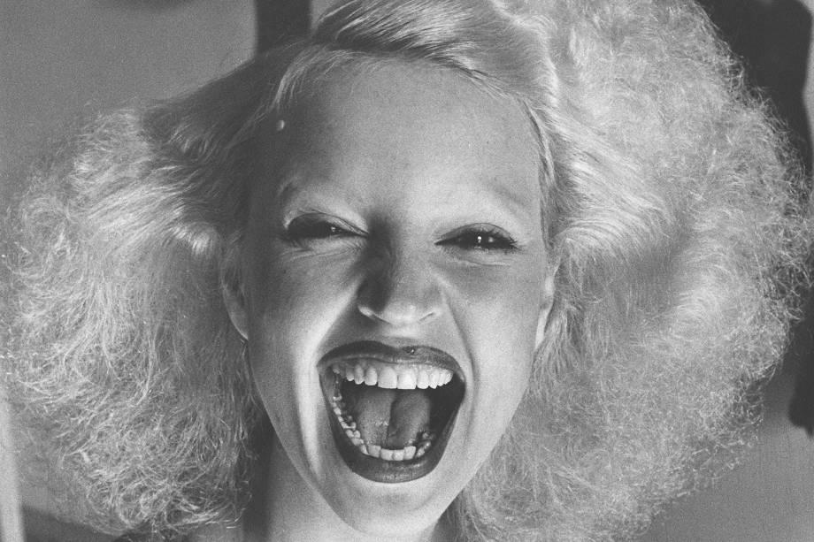 Elke Maravilha, modelo e atriz - 25/11/1975