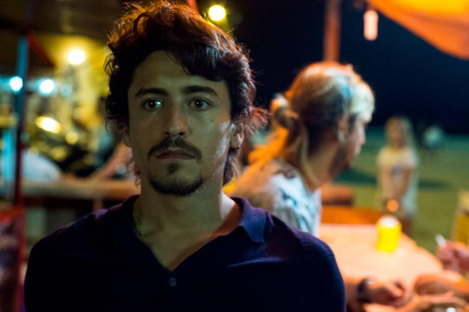 Vicente (Jesuita Barbosa), em cena da série 'Justiça', da TV Globo